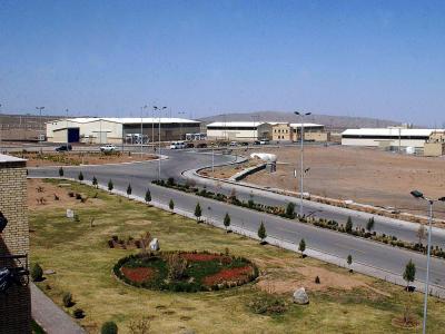 Die iranische Atomforschungsanlage Natans südlich von Teheran: Foto: EPA/Archiv