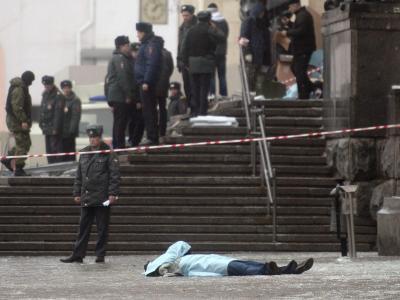 Terroranschlag in Wolgograd: Eine Selbstmordattentäterin hat sich im Bahnhof der Stadt in die Luft gesprengt. Foto: epa