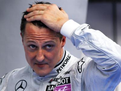 Schumacher beim GP von Malaysia