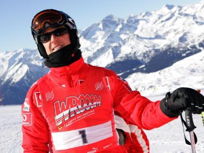 Schumacher in den italienischen Alpen