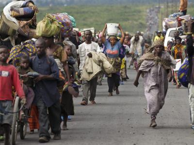 Flüchtlinge im Kongo
