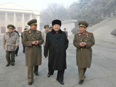 Kim Jong Un hat sich in seiner Neujahrsansprache von der besten Diktatorenseite gezeigt. Foto:Kcna