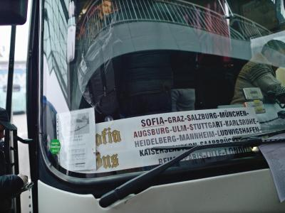 Bus in Sofia