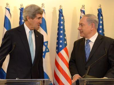 US-Außenminister Kerry erhöht den Druck auf Israel und die Palästinenser. Bei seinem neuen Vermittlungsbesuch will er beide Seiten davon überzeugen, sich auf ein Rahmenabkommen zu einigen. Foto: Haim Zach