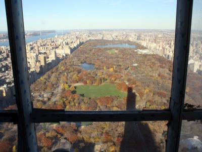 Blick aus dem Wohn-Wolkenkratzer