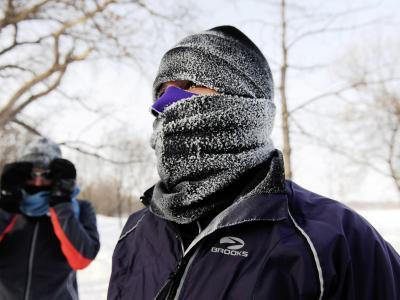 In Minneapolis ist Vermummung angezeigt. Foto: Craig Lassig