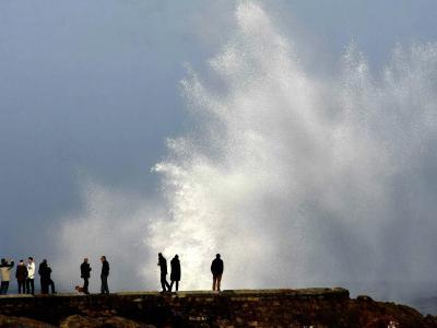 Die Behörden hatten für die Provinz eine Unwetterwarnung herausgegeben. Foto: Kiko Delgado