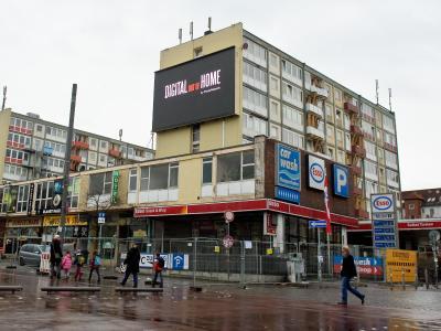 """""""Esso-Häuser"""" werden ausgeräumt"""
