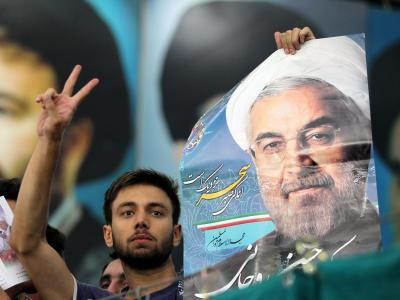 Im Iran gibt es mehrere Fraktionen und politische Flügel, aber kein klassisches Parteiensystem. Das will Ruhani ändern. Foto: Abedin Taherkenareh