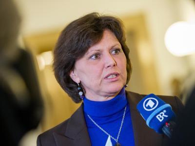 Die bayerische Wirtschaftsministerin Ilse Aigner sorgte kurzzeitig für Krach. Foto: Marc Müller