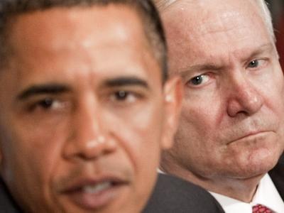 Obama und Gates