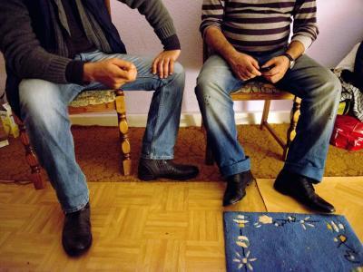 Zuwanderer in Duisburg: Fachleute fordern, die Lebens- und Arbeitsbedingungen für die Menschen in der Bundesrepublik attraktiver zu machen. Foto: Caroline Seidel