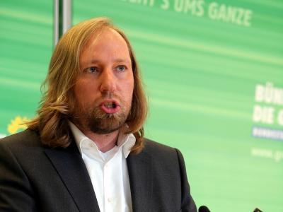 Anton Hofreiter: «Um die Energiewende erfolgreich zu machen, brauchen wir einen Konsens in Deutschland». Foto: Wolfgang Kumm/Archiv