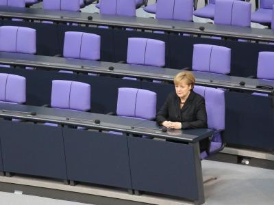 Bei der Bewertung der Kabinettsmitglieder belegt Finanzminister Wolfgang Schäuble Platz eins vor Kanzlerin Angela Merkel. Foto: Michael Kappeler