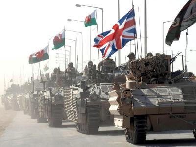 Britische Truppen im Irak