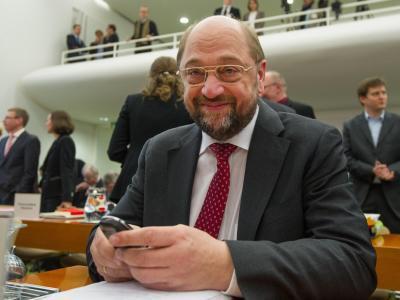 Der Präsident des Europäischen Parlaments, Martin Schulz (SPD) will über Probleme mit Einwanderern offen reden. Foto: Uwe Anspach/Archiv