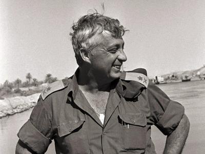 Während seiner langen Karriere in Armee und Politik wurde er von Anhängern verehrt und von Gegnern gefürchtet. Foto Ron Ilan/ISRAELI GOVERNMENT PRESS OFFICE Foto: Ron Ilan/Israeli Government Pres