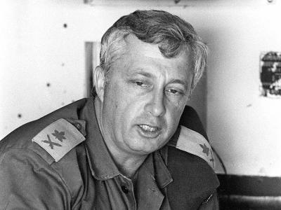 Scharon schlug eine militärische Laufbahn ein und nahm unter anderem am Sechs-Tage-Krieg 1967 teil. Foto: GPO