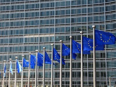 EU-Flaggen