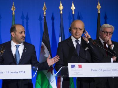 Hoffnungen auf eine schnelle Zusage der syrischen Opposition zur Friedenskonferenz in der Schweiz haben sich erneut zerschlagen. Ein Außenministertreffen in Paris endete mit einem eindringlichen Appell. Foto: Ian Langsdon