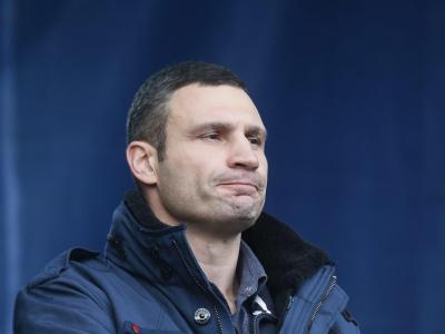Klitschko fordert scharfe Sanktionen der EU gegen Janukowitsch. Foto: Sergey Dolzhenko