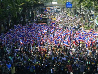 Massenprotest