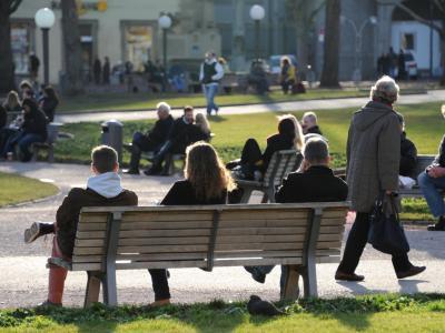 Menschen in Stuttgart