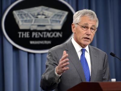 Dutzende US-Soldaten sollen bei einem Leistungstest geschummelt haben. Pentagon-Chef Hagel zeigt sich verärgert. Foto: Shawn Thew