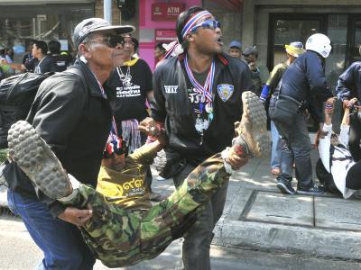 Verletzte bei Explosion inBangkok