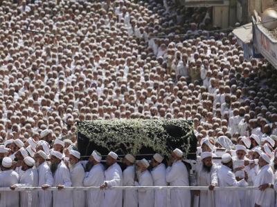 Beerdigung in Mumbai