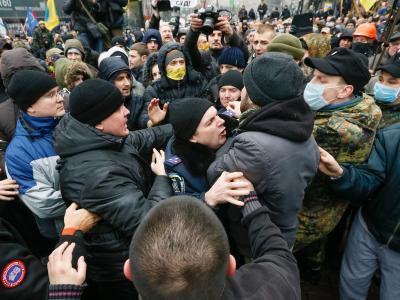 Gerangel in Kiew