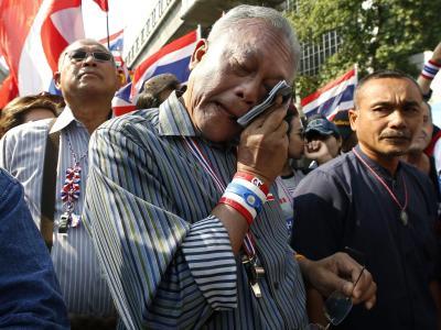 Tränen in Bangkok