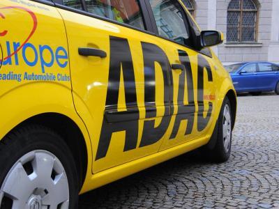 Ein Auto des ADACbei der