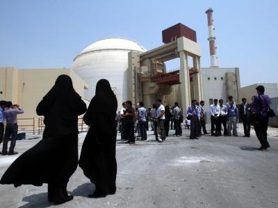 Atomanlage Bushehr im Süden des Iran. Foto: Abedin Taherkenareh