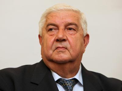 Walid al-Muallim, hier einArchivbild, ist Außenminister Syriens. Foto: Arno Burgi