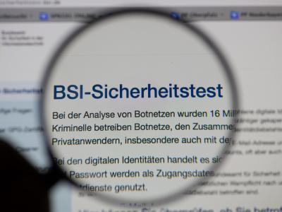 Nach den Warnungen über millionenfach geknackte E-Mail-Konten überschwemmten Anwender die Site mit dem Sicherheitscheck des BSI. Foto: Armin Weigel