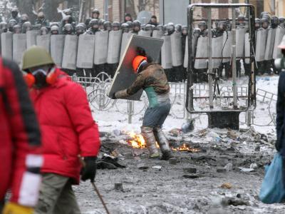 Für die Eskalation in Kiew machen sich prowestliche Opposition und russlandfreundliche Führung gegenseitig verantwortlich. Foto: Zurab Kurtsikidze