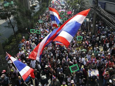 Demonstration in Thailand