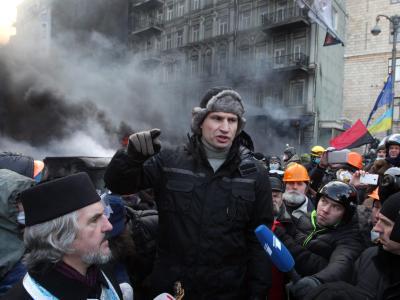 Oppositionsf�hrer Vitali Klitschko