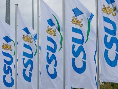 CSU-Flaggen