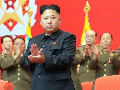 Kim Jong Un hat nach seinem Onkel angeblich auch dessen gesamte Familie hinrichten lassen. Foto: Rodong Sinmun