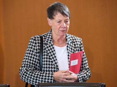 Bundesumweltministerin Barbara Hendricks. Foto: Maurizio Gambarini