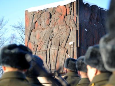 Vor genau 70 Jahren, am 27. Januar 1944, vertrieben sowjetische Truppen die letzten deutschen Soldaten aus dem damaligen Leningrad. Foto: Yuri Belinsky