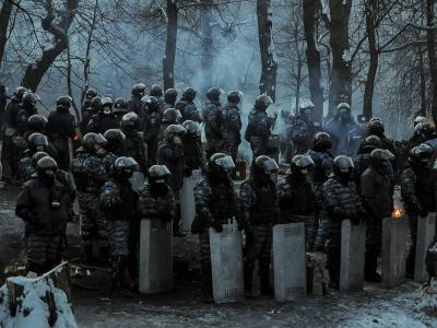 Ukrainische Bereitschaftspolizei