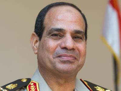 General Abdel Fattah al-Sisi gilt als Anwärter für eine Kandidatur um das Präsidentenamt. Foto: Michael Kappeler/Archiv