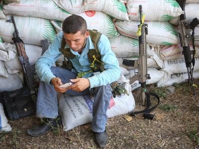 Die Bürgerwehren müssen den Behörden Listen ihrer Mitglieder vorlegen und ihre Waffen registrieren lassen. Foto:Ulises Ruiz Basurto