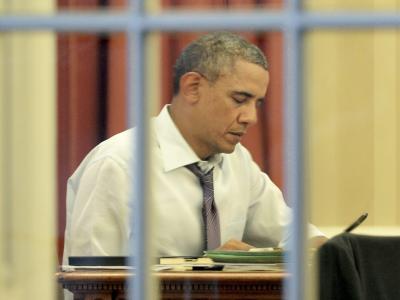Mit seiner Rede zur Lage der Nation will Obama seiner Präsidentschaft neuen Schwung verleihen. Da die Republikaner seine Gesetzesvorhaben meist blockieren, will er mehr per Verordnung regieren. Foto: Michael Reynolds