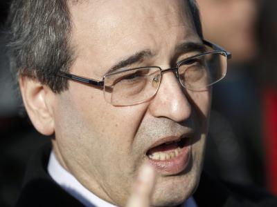 Syriens stellvertretender Außenminister Faisal Mekdad hat Forderungen der Opposition nach einem Rücktritt Assads zurückgewiesen. Foto: Valentin Flauraud