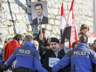 Der zentrale Streitpunkt ist die Rolle von Machthaber Assad. Foto:Salvatore Di Nolfi