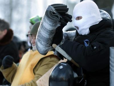 Die Oppositionsgruppen haben offensichtlich nicht vor, den Maidan zu räumen. Foto:Maxim Shipenkov